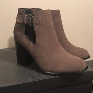 New Shoemint Laurel Suede Booties